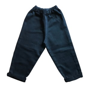 Image of Pippins - Black Recycled Toddler Jeans.