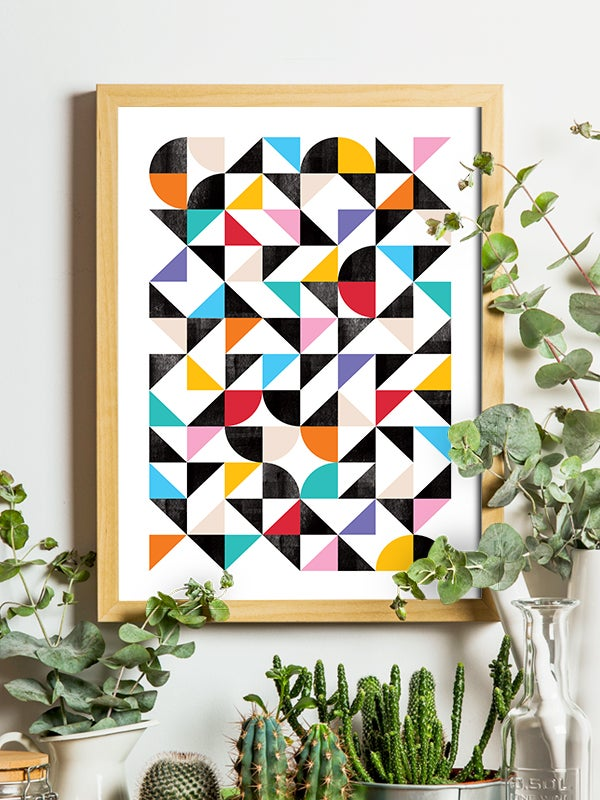 Image of Organised Confusion art print