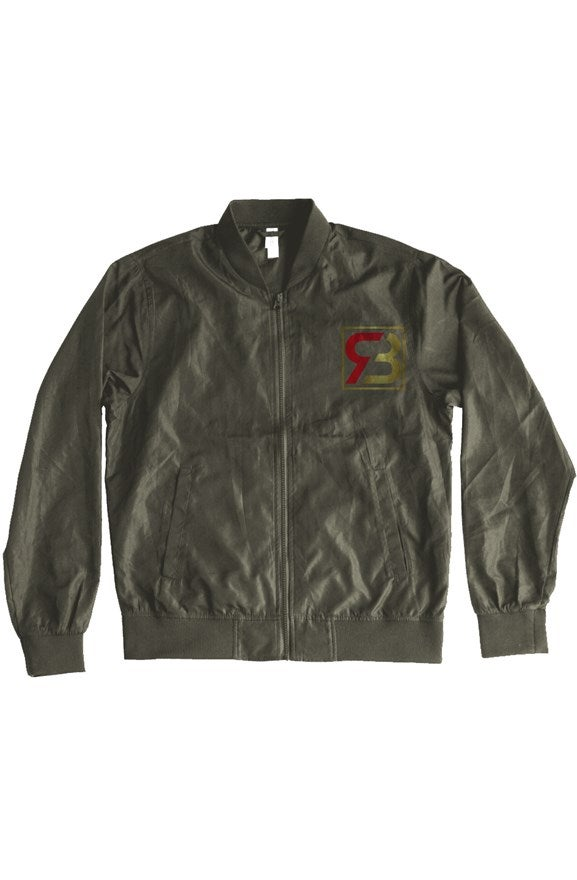 Image of Red Bottoms Light Weight Bomber Jacket-Green