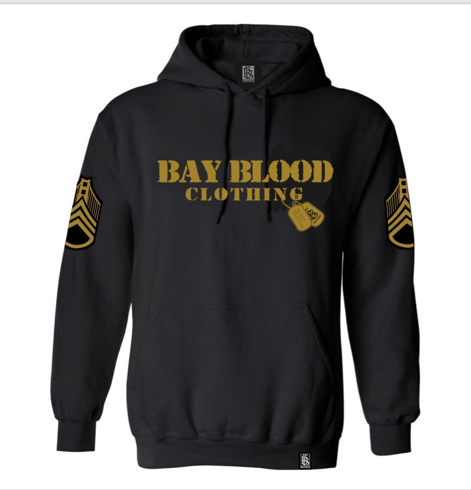 Image of First Blood Hoodies (Black/Gold)