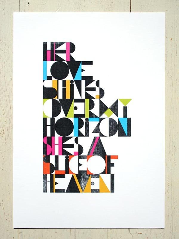 Image of Slice of Heaven - A4 art prints