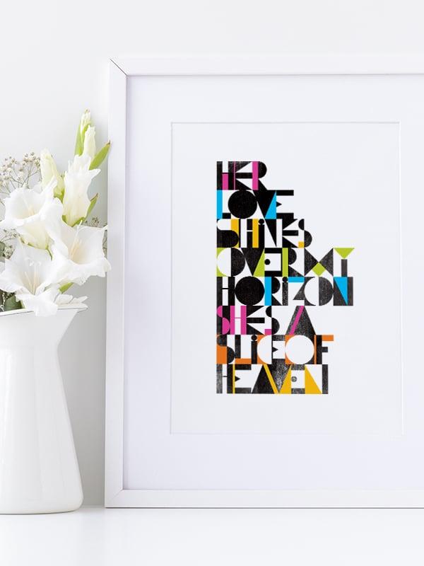 Image of Slice of Heaven - A3 art prints