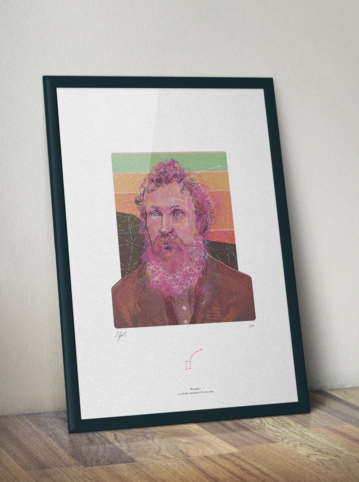 Image of 1 Print for 1 Tree  // John Muir