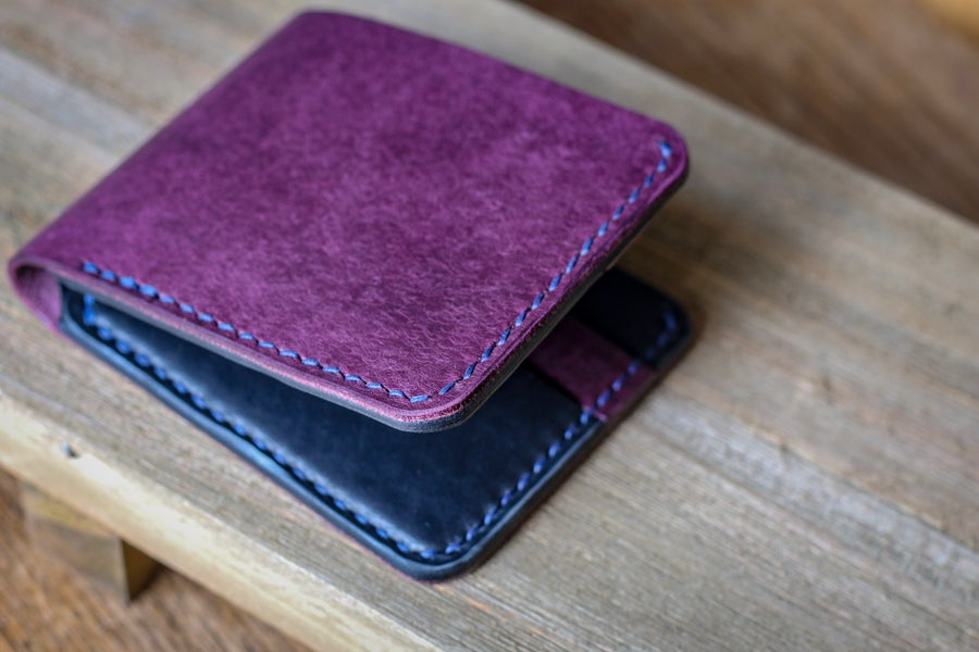 Image of Traditional Bifold in Violet Pueblo and Black Dublin