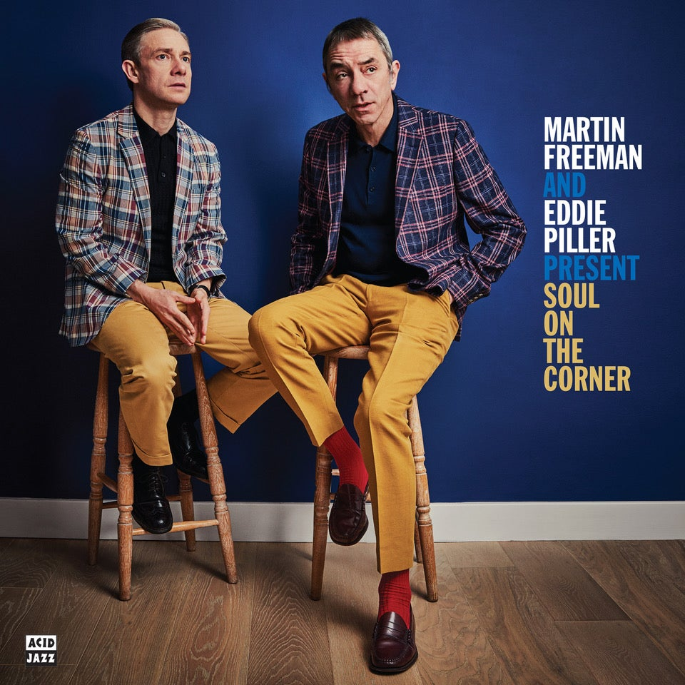 Image of Martin Freeman and Eddie Piller Present: Soul on the Corner (CD)