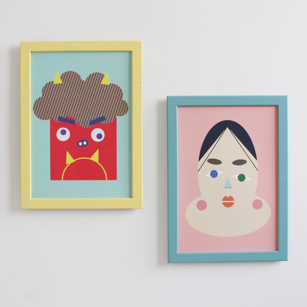 Image of Affiche Fukuwarai