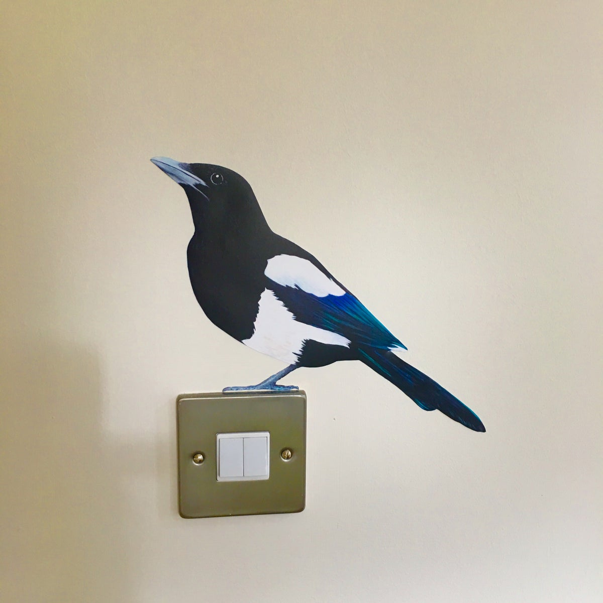 Image of Morwenna Magpie ~ Wall sticker
