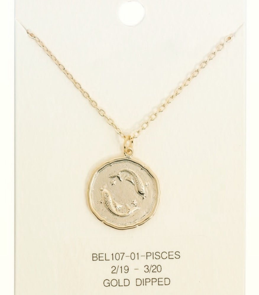 "Image of ""What's Your Sign"" necklace"