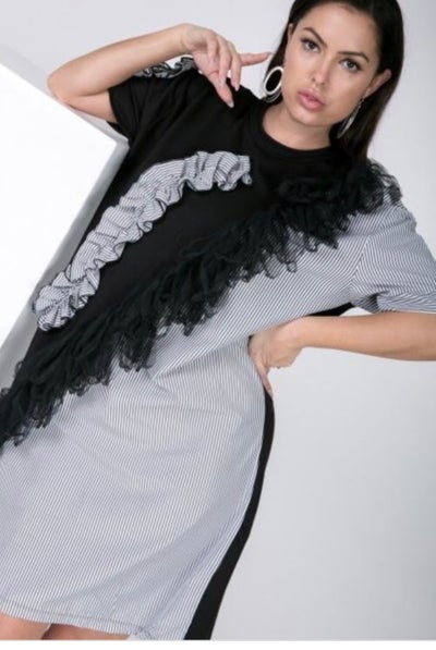 Image of Ruffle Me Dress