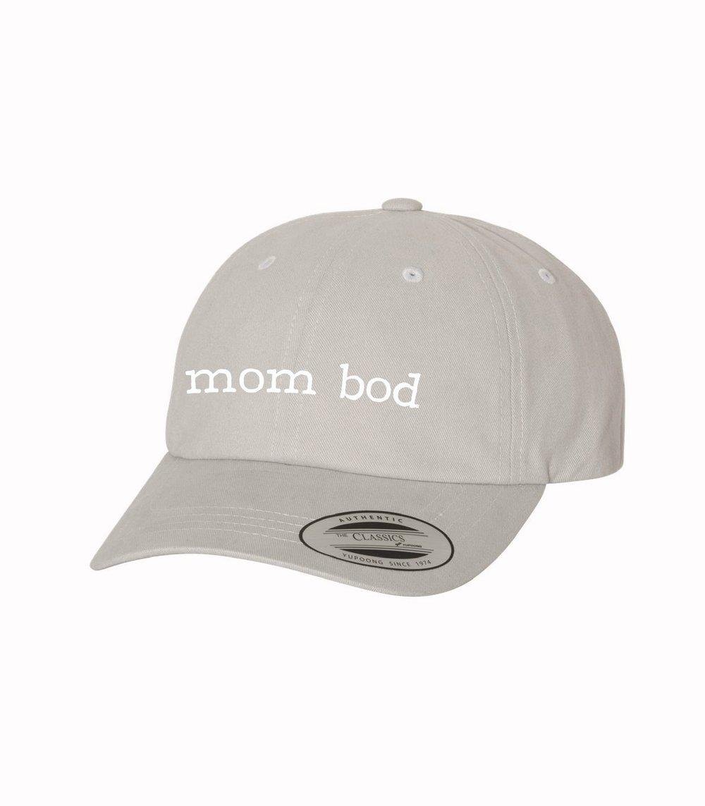 Mom Bod Hat Grey