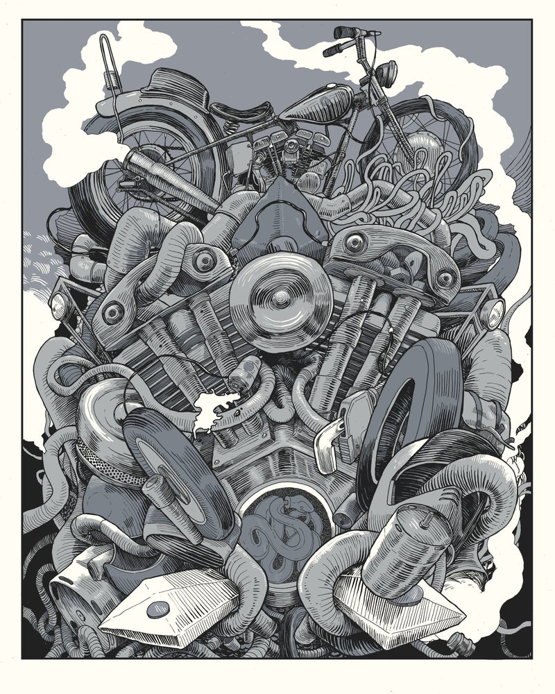 Image of Parts (unknown) Art Print