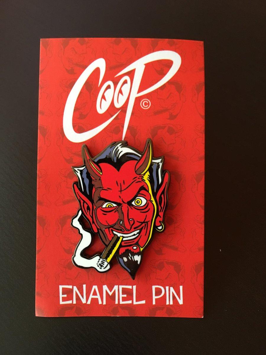 Image of SMUT DEVIL Enamel Pin