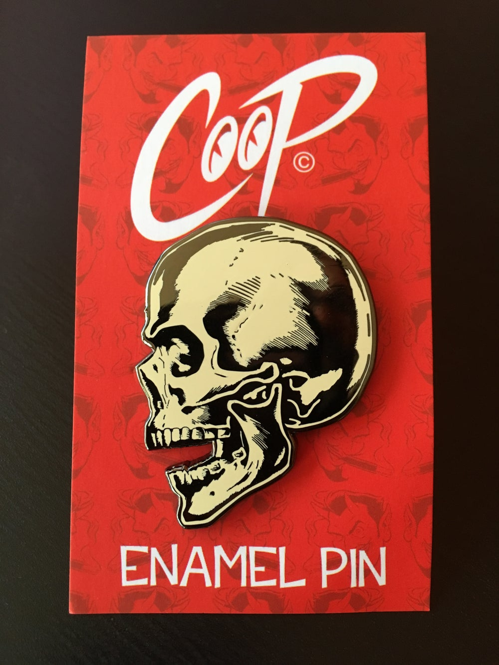 Image of MEMENTO MORI Enamel Pin
