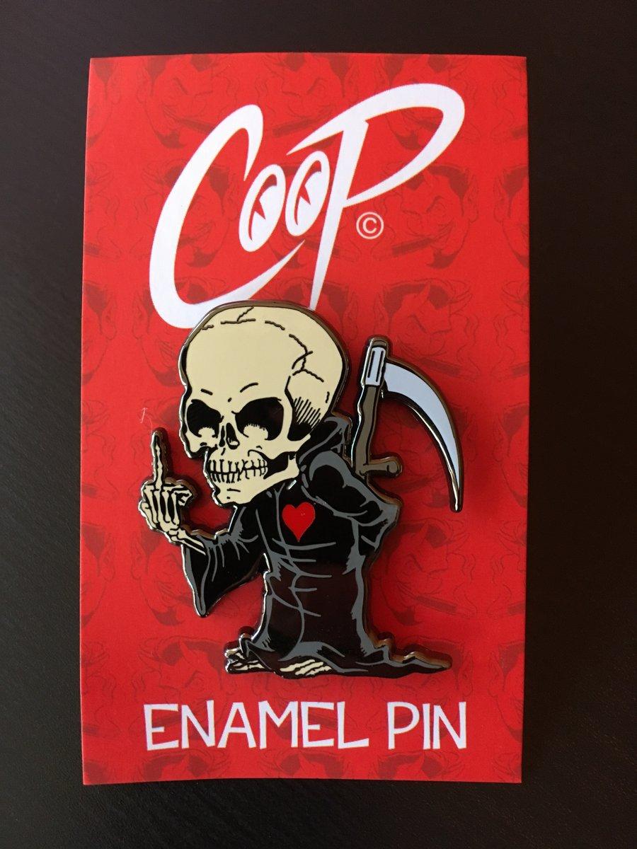 Image of LIL' MORT Enamel Pin