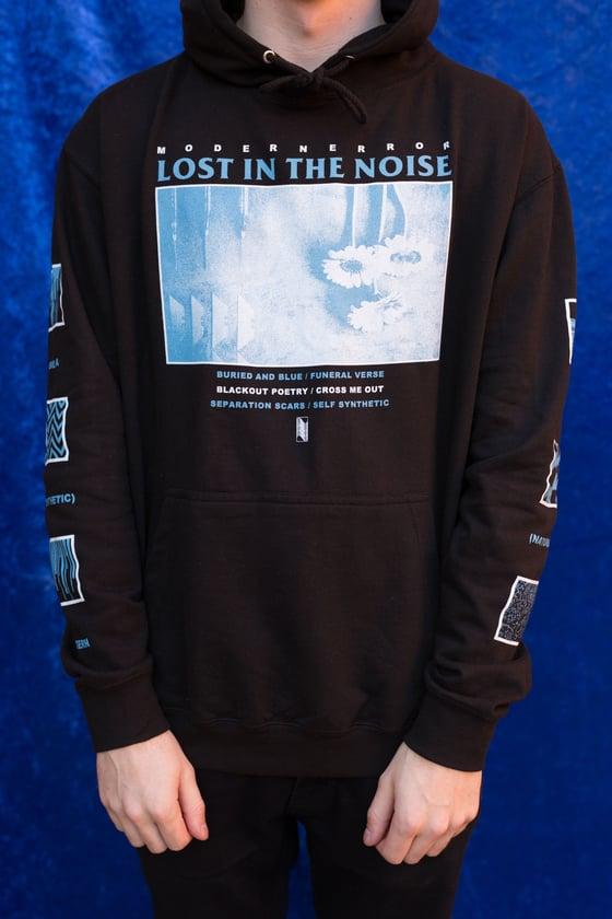 Image of 'Lost In The Noise' Black Hoodie [≋]