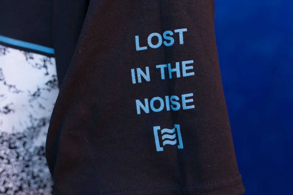 Image of 'The Noise' Black Tee [≋]