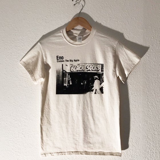 "Image of Brian Eno ""Black Socks"" Tee"