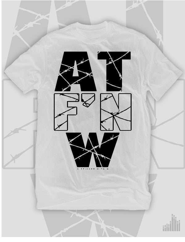 Image of A.T F'N W White T-Shirt