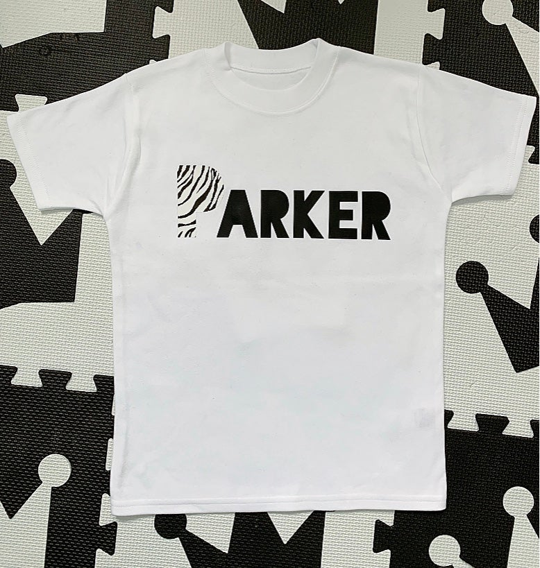 Image of Zebra Personalised Tees