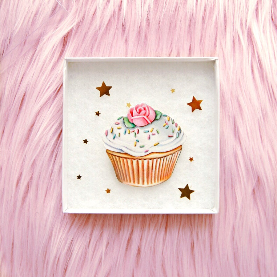 Image of Cupcake pin
