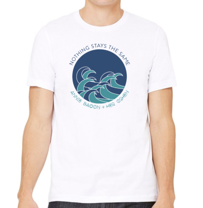 Image of Nothing Stays The Same - waves t-shirt