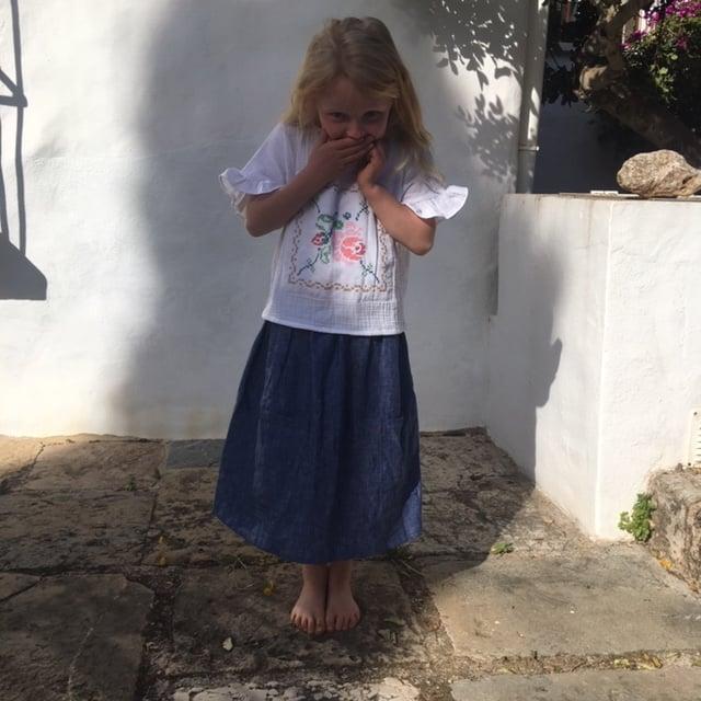 Image of Linen Skirt