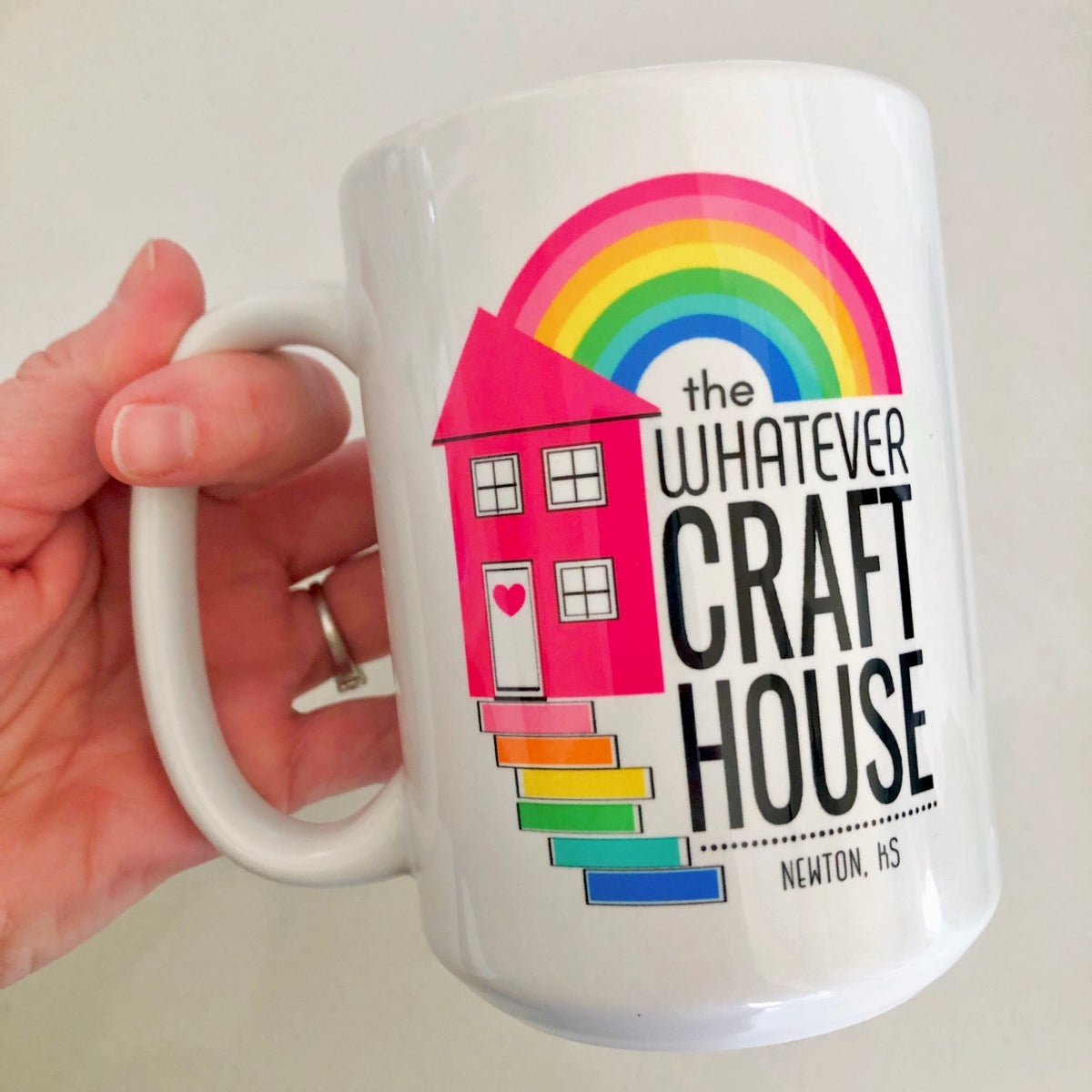Image of Whatever Craft House Mug