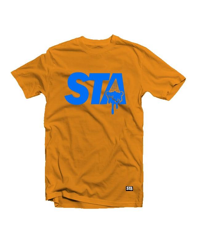 Image of STA ASTROS TEE ORANGE