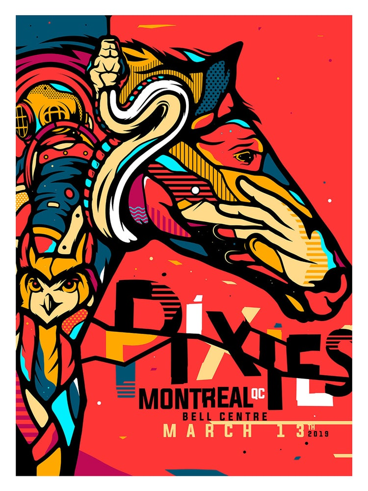 Image of Pixies Montreal Posters