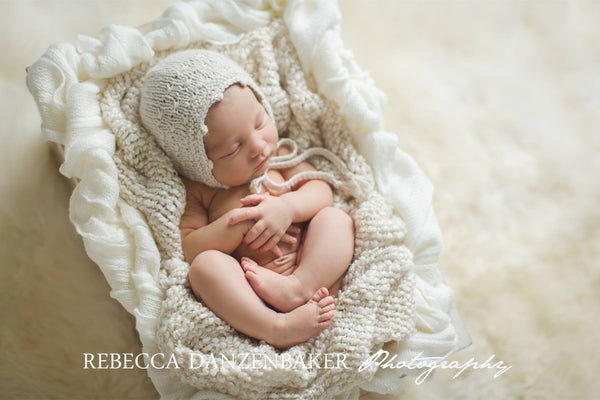 Image of Rebecca Bonnet in Eco Alpaca - Made to Order