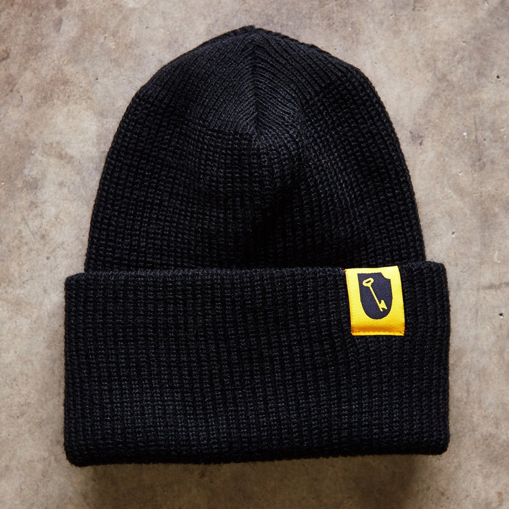 Image of Shield Logo Beanie