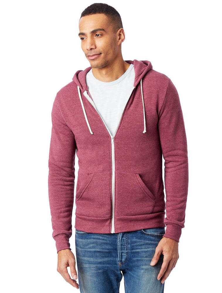 Image of Eco-Fleece Hoodie - Currant