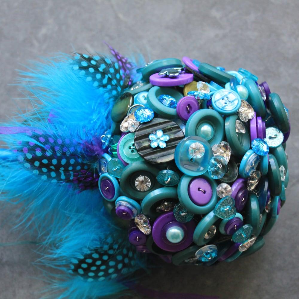Image of Button Bouquet
