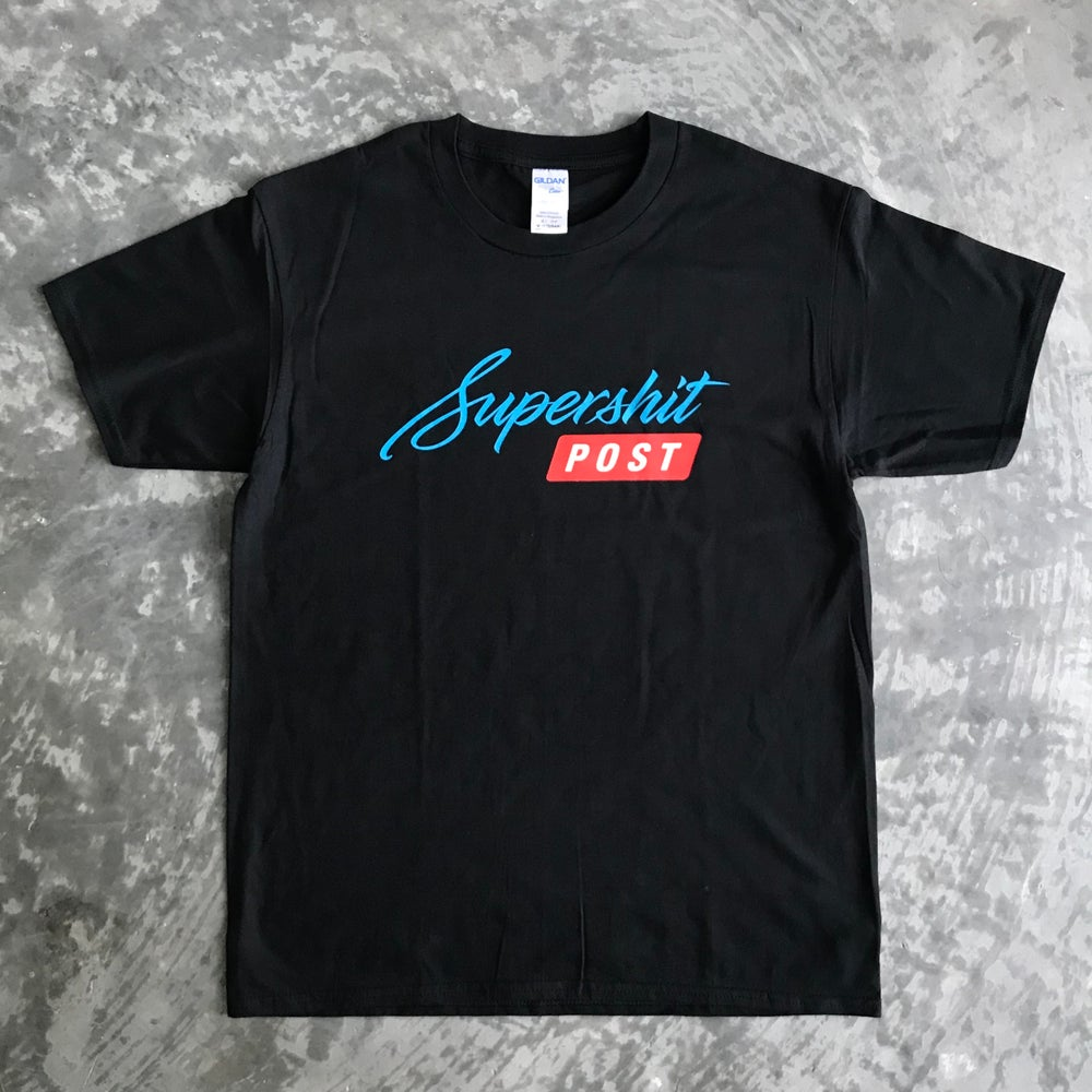 Image of Supershit Post tee