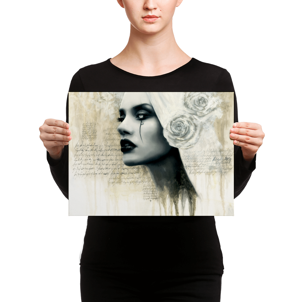 Image of Knowing Perdition ( Canvas print)