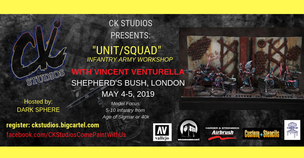 Image of London: Unit/Squad, Infantry/Army Painting with Vince May 2019