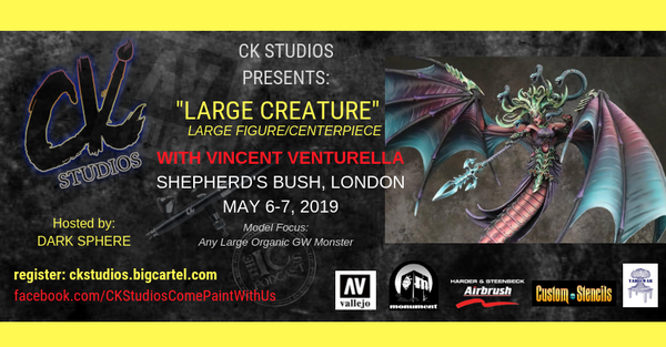 Image of London: Large Creature / Centerpiece with Vince May 2019