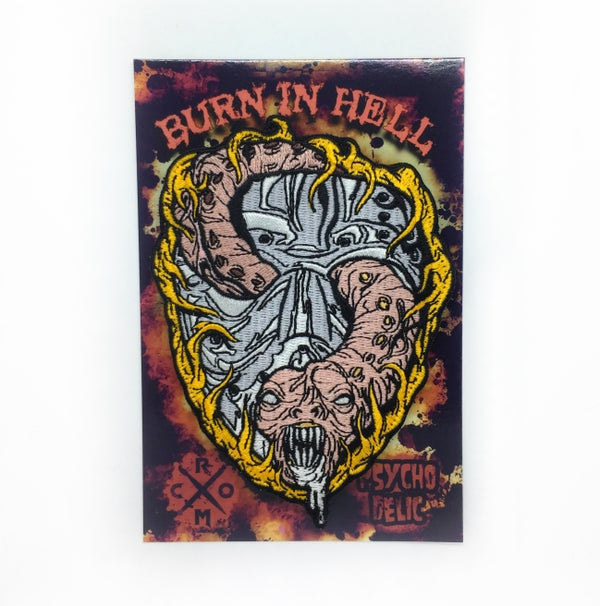 Image of Burn in Hell patch
