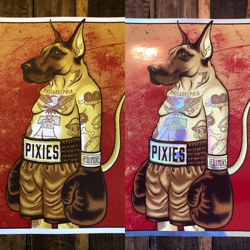 Image of Pixies - March 18th, 2018 - Philadelphia, PA - Combo Pack