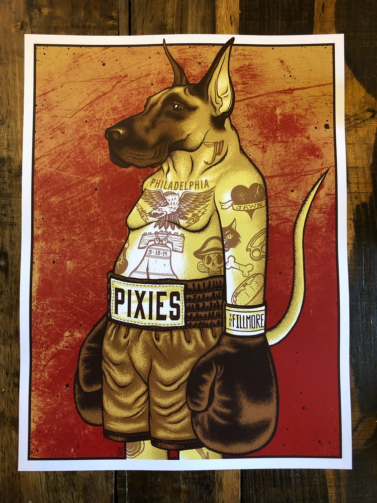 Image of Pixies - March 18th, 2019 - Philadelphia, PA - Artist Edition