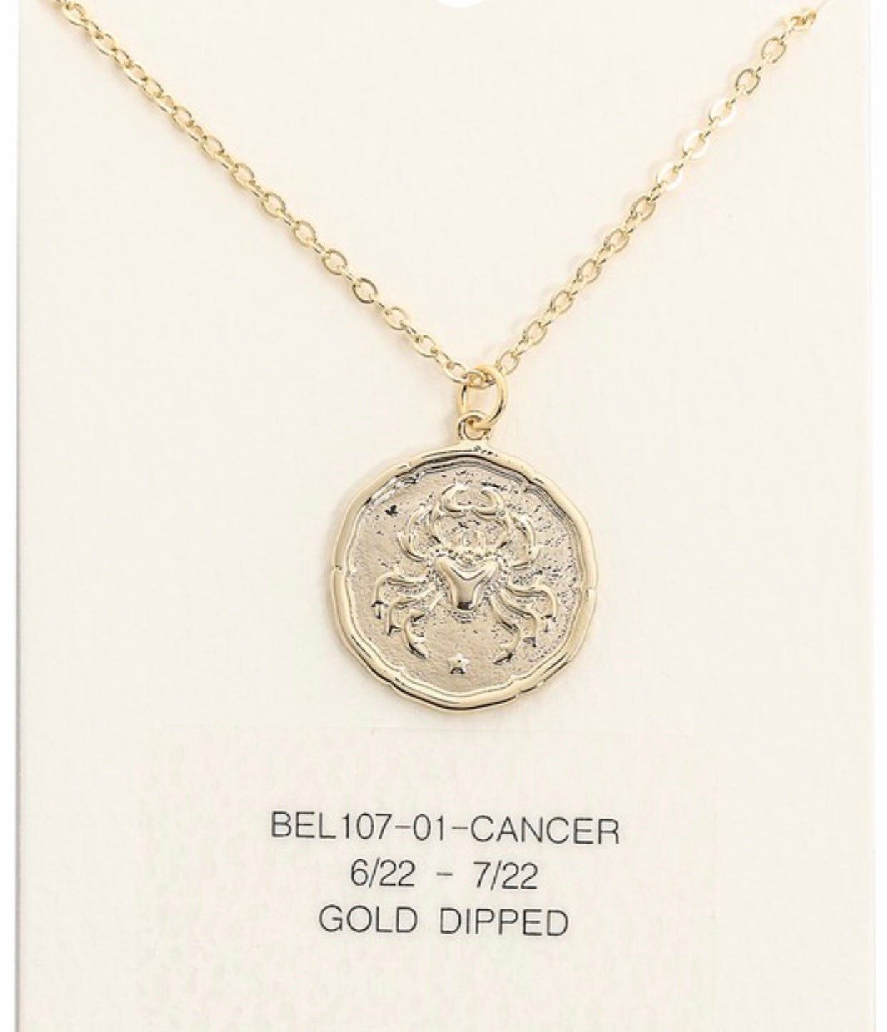 """Image of """"What's Your Sign"""" necklace"""