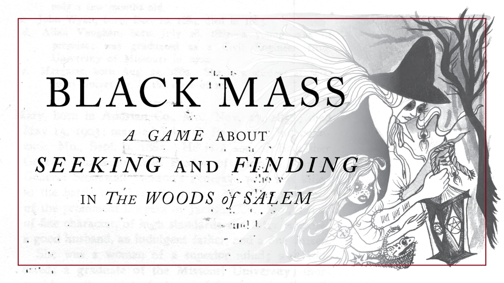 Image of Black Mass [Print + PDF]