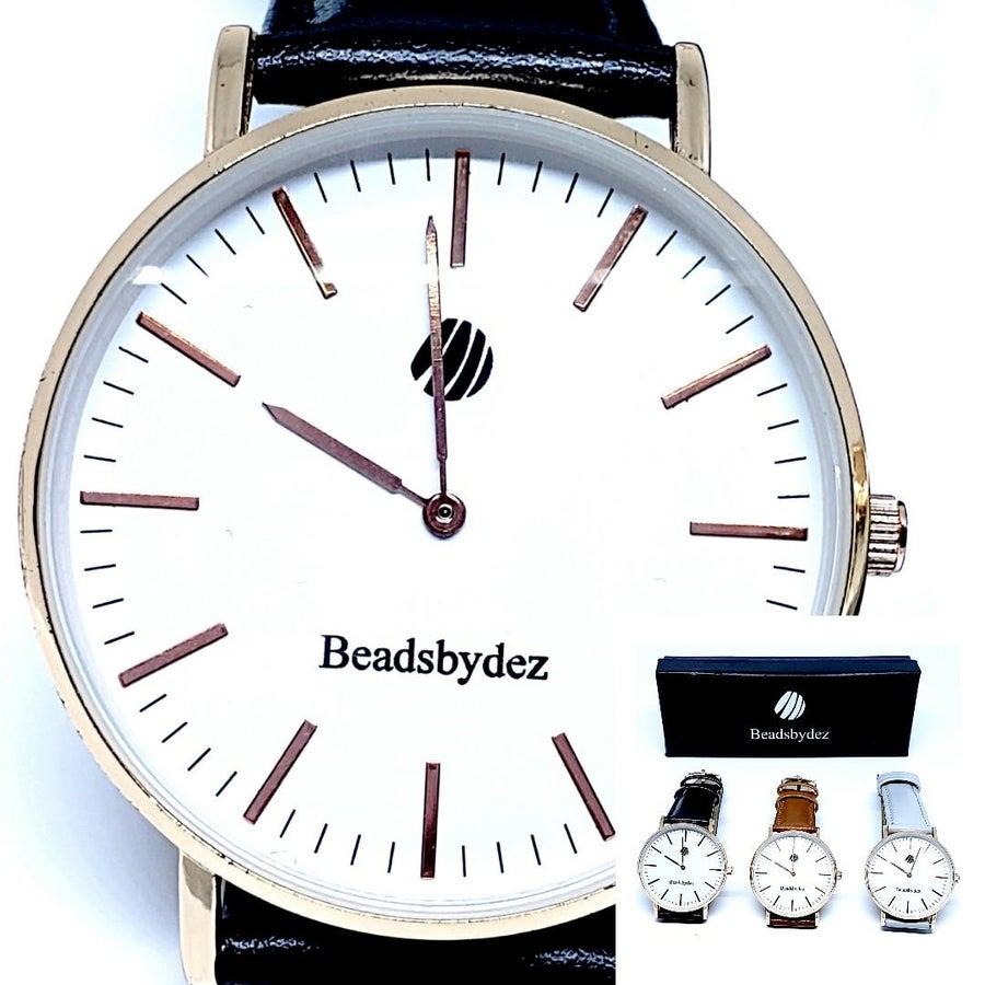 Image of Beadsbydez woman's watches w/bracelet.