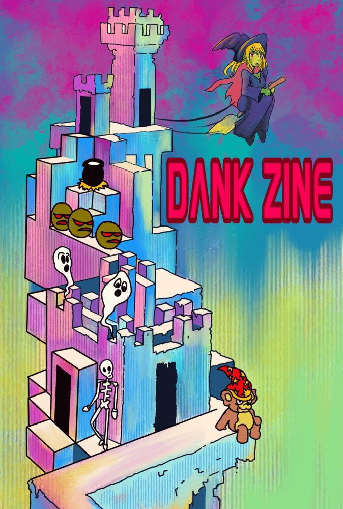 Image of Dank Zine Issue 21/22 (DOUBLE STUFFED)