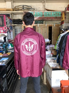 Image of Windbreaker Jackets Spark Plug design