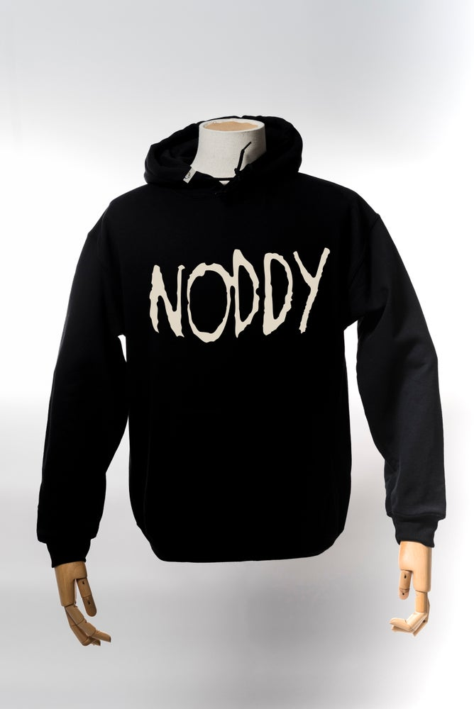 Image of Monkey Climber Roddy Noddy heavy hoodie I Black