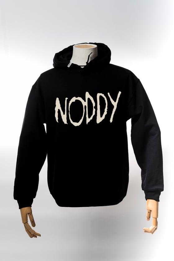 Image of Monkey Climber Roddy Noddy heavy hoodie I Black