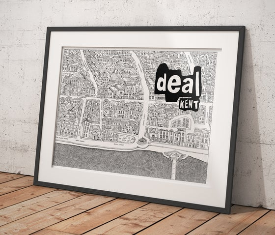 Image of Deal Town Doodle Map