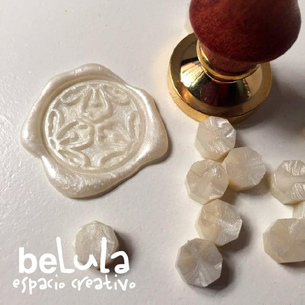 Image of Minilacre blanco perla
