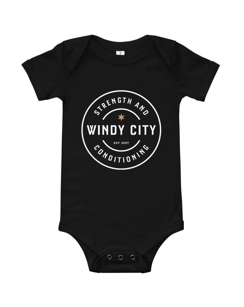 Image of Baby Onesie (Black)